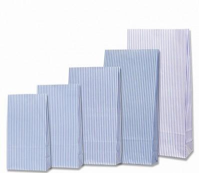 紙袋ストライプB